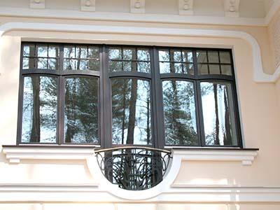 Деревянные окна сложной конфигурации