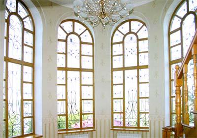 Деревянные окна в Экопросвет